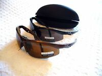 Safety Glasses W/ Bifocal Readers W/ Free Casesmoked Lens Gr8 4 Reading Prints