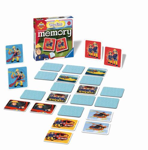NEU//OVP MEIN ERSTES memory® RAVENSBURGER 21204 FIREMAN SAM