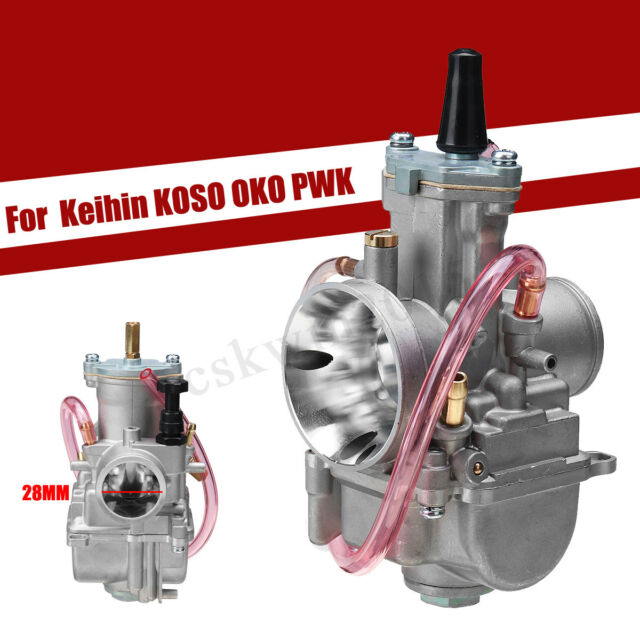 Motorcycle 28mm Carburetor Part Hose&tools for Keihin KOSO OKO PWK ATV Go  Kart