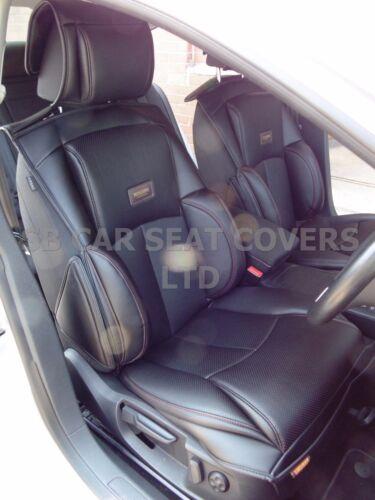 BLACK CAR SEAT COVERS i YS01 RECARO SPORTS TO FIT A VOLVO V70