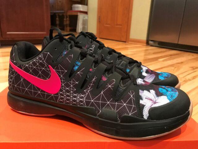 d01587bca4c6 Nike Zoom Vapor 9.5 Tour PRM Size 13 Black Pink Gum 923120-001 Mens ...