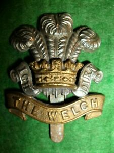 The-Welch-Regiment-100-Genuine-British-Army-Military-Cap-Badge
