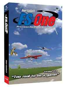 FS-One-R-C-Flight-Simulator-V2-with-TacCon-Transmitter-Adapter-Cable-NEW