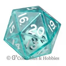 NEW Green Double Dice RPG Gaming D20 Twenty Sided Game Die Math Koplow