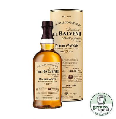 Balvenie DoubleWood 12 Jahre Speyside Single Malt Whisky 700ml 40%