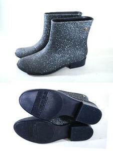 5 Shoes Glitter Glittered Melissa Ankle Blue 38 Blue Boot Moon Boots Dust vFwxdwqUO