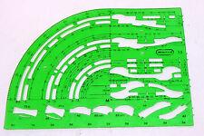 MINITRIX Schablone 1:5 Gleisplan Gleispläne 66622 N Zeichenschablone A1-06355