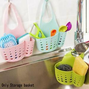 Kitchen-Sponge-Drain-Storage-Rack-Basket-Wash-Cloth-Toilet-Soaps-Shelf-Organizer
