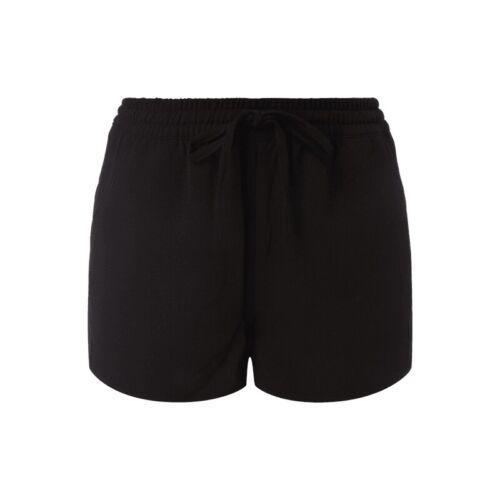 Only Donna Shorts Pantaloni Fitness ELASTICO federale Vestiti Estate Nuovo Misura 38