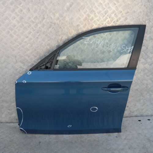 BMW 1 serie E87 E87N Puerta Frontal Izquierdo N//S sydneyblau Sydney Azul Azul-A19