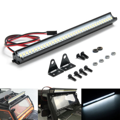 Super Bright 32Leds LED Light Roof Bar for SCX10 90046 TRX-4 1:10 RC Crawler