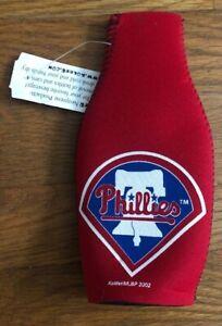 MLB-Philadelphia-Phillies-Baseball-Red-Zipper-Bottle-Koozie-NEW