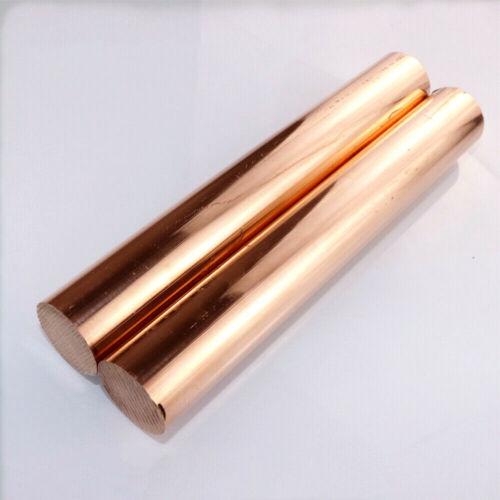 C11000 Cu-ETP Pure Copper Stick  Copper Round Bar Solid Rods Dia 4-80mm L 200mm