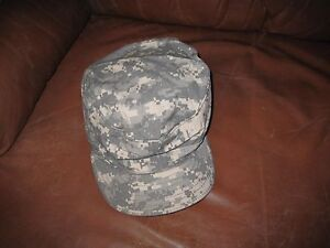 cbc9abb6274 Army Digital ACU Patrol CAP Sun Hat Sz 7 new without tag Bernard Cap ...