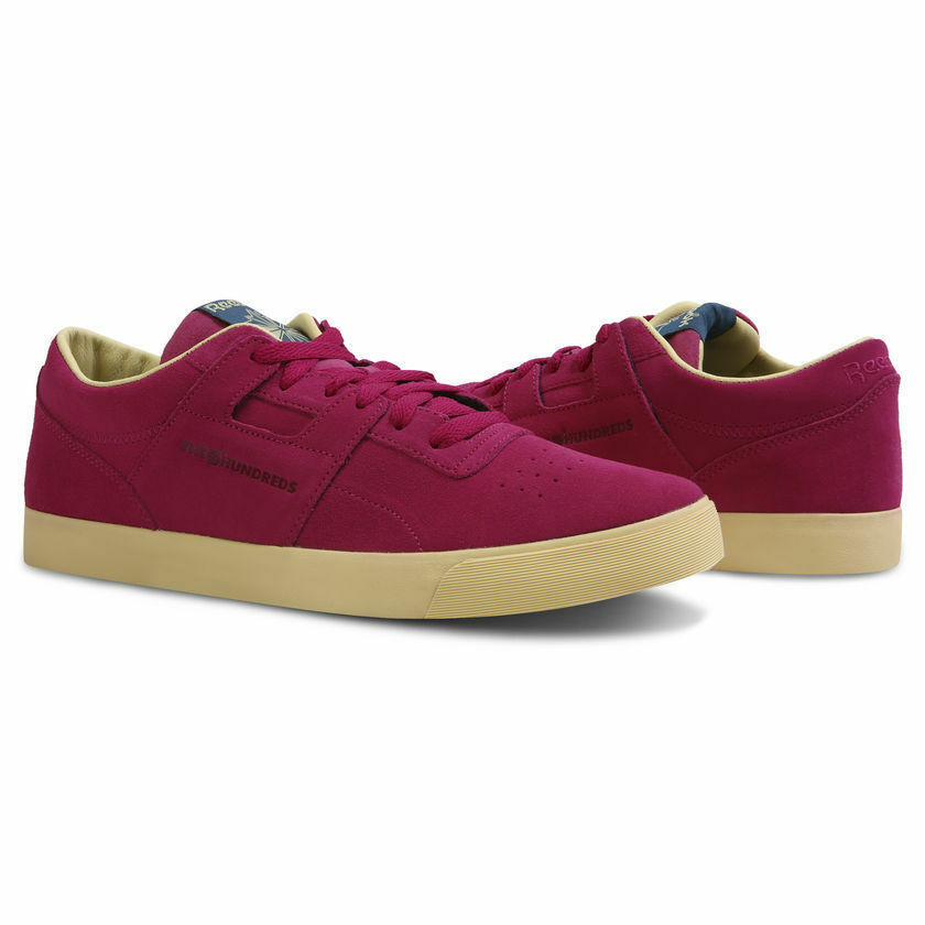 Reebok Classic Workout Clean Fvs X The Hundreds Purple Gum Limited New CN2023