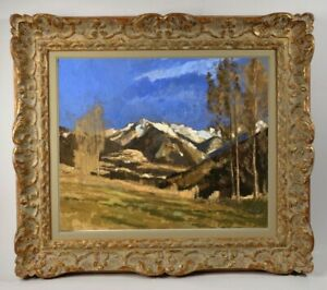 Henri-Andre-MARTIN-1918-2004-PEINTURE-PAYSAGE-AUTOUR-D-039-EYGALIERES-1942-14