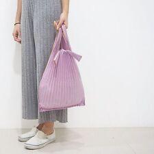 PURPLE Small Kna Plus Pleco Pleats Bag Nu Swim Issey Miyake Pleats Style