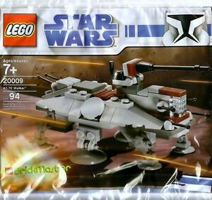 LEGO-Star-Wars-Clone-Wars-Rare-Brickmaster-AT-TE-Walker-20009-New