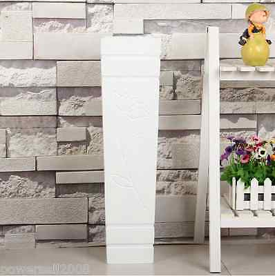 Simplicity European Pastoral Wooden Home Decoration White Floor Vase &6