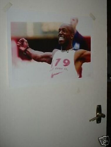 Ian Wright Arsenal 179 Goals Door Poster #2 Face