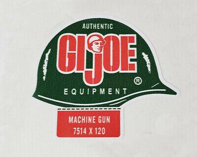 GI Joe Action Marine Helmet Sticker 1964-1966