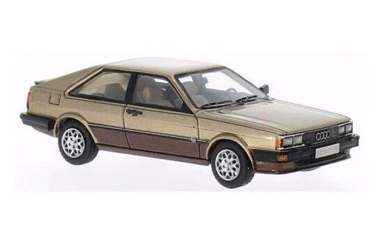 Audi Coupé GT  oro  1981  Neo Scale 1:43 / 43377