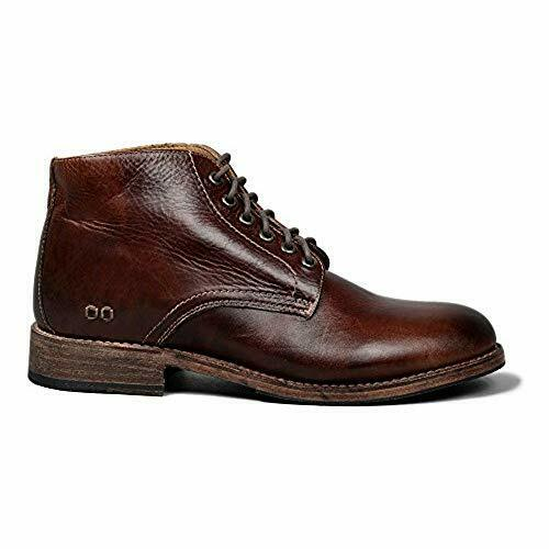 Bedstu Men's Marronee Teak Rustic Leather Ankle stivali, 13(US)