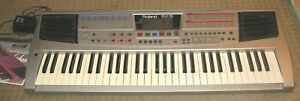ROLAND EM-15 KEYBOARD 61 Keys SYNTHESIZER in EX Working Condition with Manual