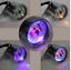 Motorcycle-Dual-Odometer-Speedometer-km-h-Gauge-Stainless-steel-LED-Backlight thumbnail 1