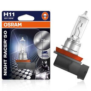 Osram-H11-12V-55W-PGJ19-2-Night-Racer-50-1st-Blister-64211NR5-01B