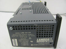 Lambda LRS-54-24 Regulated Power Supply 5.4A Used