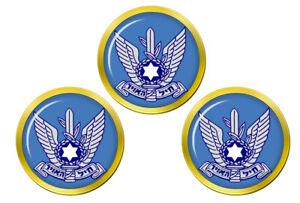 Zroa-Haavir-Vehahalal-Israelien-Air-Force-Marqueurs-de-Balles-de-Golf