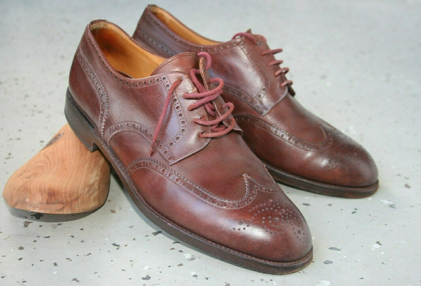 Yanko handmade Business Leather schuhe Spain 8 oder 42  Schuhe Cosido Goodjear