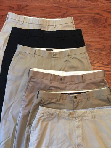 Lot mens dress pants 36 Dockers Haggar Free Shippi