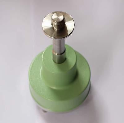/& Lock Rotation de trois-Jaw Tribrach Adaptateur Avec Amovible Centre for series GPS