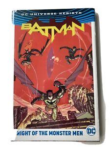 Batman: Night of the Monster Men - DC Hardcover Graphic Novel - NEW & SEALED!