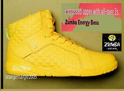 Zapatos de Zumba instructores de baile Fitness! Kicks zumbas Top Line Zcon W máximo apoyo! | eBay