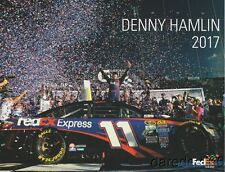 2017 Denny Hamlin FedEx Toyota Camry NASCAR MENC postcard