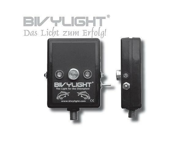 % Bivylight Rod Pod Marker River  DAS Positionslicht  Rot Grün Blau Weiss lila