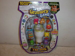 The-Grossery-Gang-Time-Wars-10-Pack-with-2-Flush-039-N-Fizz-Grosseries-NEW