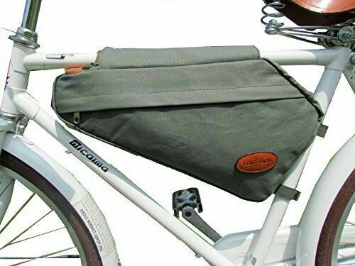 Bicycle Triangle Frame Front Bag Saddle Panniers Cycling Bike Tube Pouch HoldSJ