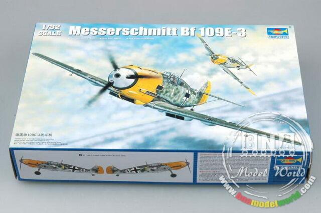 Trumpeter Model kit 1/32 Messerschmitt Bf 109E-3