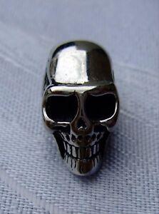 5,2mm Loch Edelstahl Groß Loch Perle Skull Beads ArmbÄnder Ketten