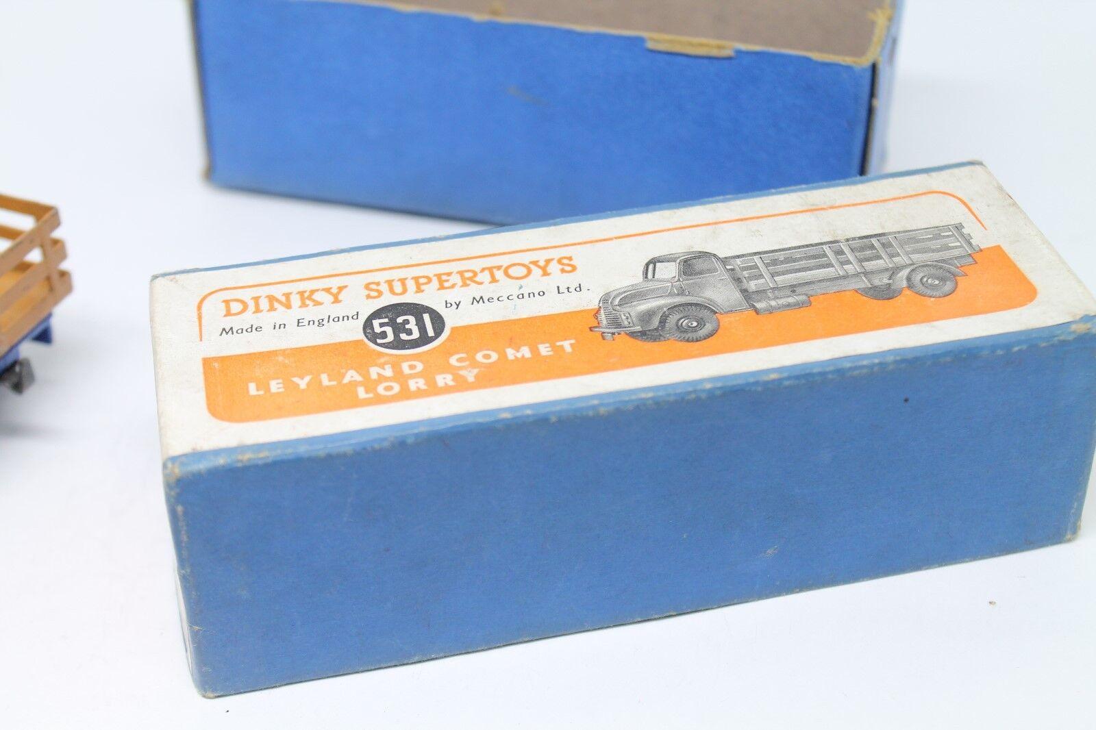DINKY SUPERTOYS 531 531 531  Leyland comet Lorry  Neuf dans sa boîte  1952 | De Biens De Toutes Sortes Sont Disponibles  | Ingénieux Et Pratique  | Online Shop  c55b71