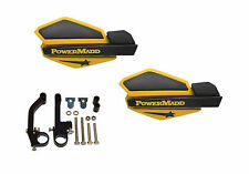 Powermadd Star Series Handguards Guards Ski-Doo Yellow Snowmobile Ski Doo Summit