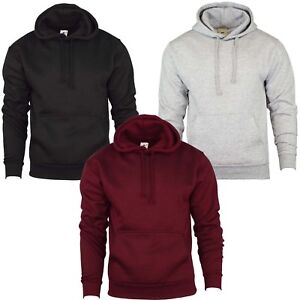Sweat-a-Capuche-Uni-Sweat-a-Capuche-Chemise-Decontractee-Hommes-Work-Wear-Top-Pull-Sweat-a-capuche