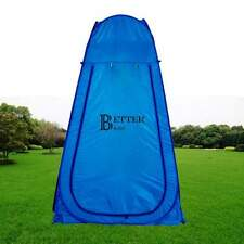 Portable Pop UP Camping Fishing Bathing Shower Toilet Tent Dressing Room Blue