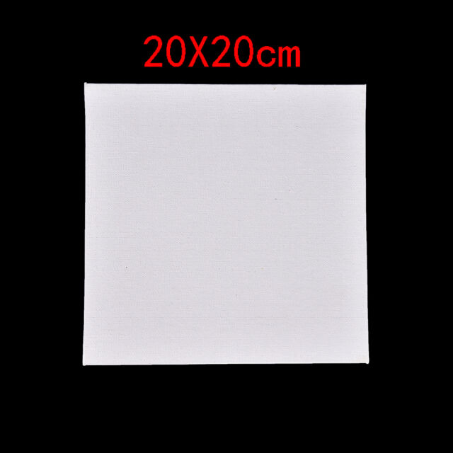 White Blank Square Artist Canvas Wooden Board Frame for Primed Oil ...