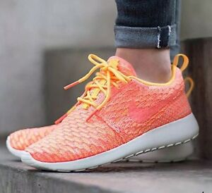 WMNS NIKE ROSHE ONE FLYKNIT Running Running Running Trainers Schuhes Gym Fashion UK ... 334988