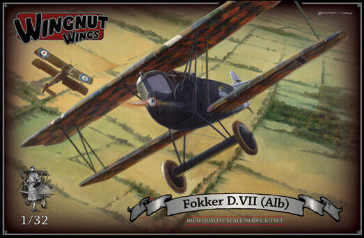OOP Wingtut Wings 1 32 Fokker D.VII (Alb) High Quality Scale Modell Kitset